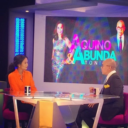Isabelle Daza on Aquino & Abunda Tonight