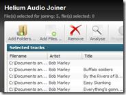 Unire più canzoni in un solo file audio settando i secondi tra un brano e l'altro