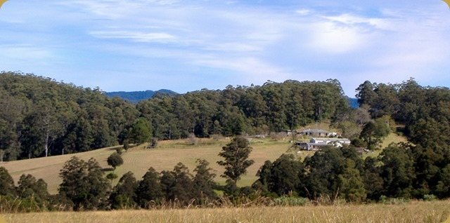 View of Elands property from other side of valley
