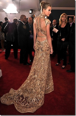 Taylor Swift Zuhair Murad back