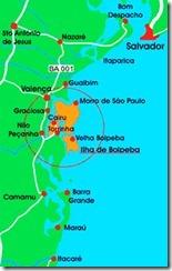 mapa Boipeba