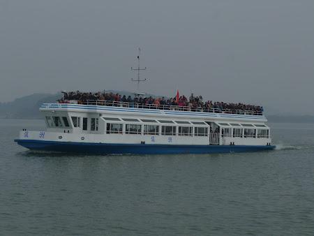 Obiective turistice Wuxi: Vas de promenada