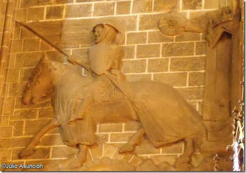 El cruzado de San Cernin  - Pamplona