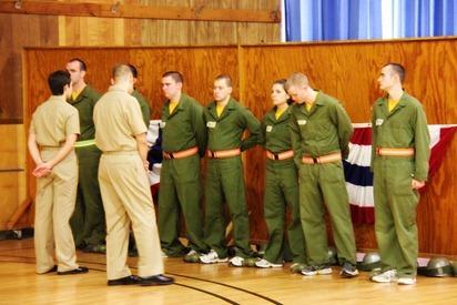 Mark Navy OCS Grad 4