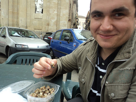 Gastronomie italiana: Palermo - Festin culinar cu melci