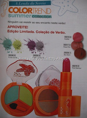 Maquiagem Color trend Summer Collection