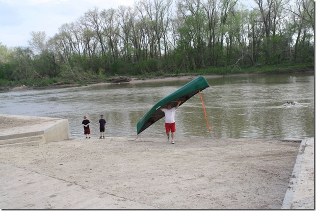 Dan w canoe Mar 13 2012