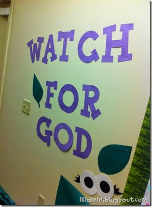 watch for God wall
