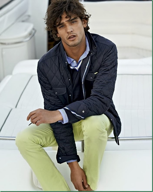 First Look: Marlon Teixeira for Scapa Sport S/S 2014