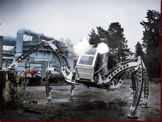 Mantis, Robot Segala Medan Berkaki Enam4