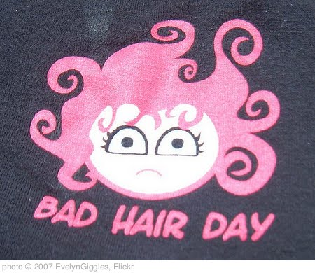 'bad hair day' photo (c) 2007, EvelynGiggles - license: http://creativecommons.org/licenses/by/2.0/