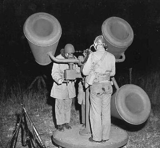 How incoming enemy aircraft were detected before the advent of radar ??