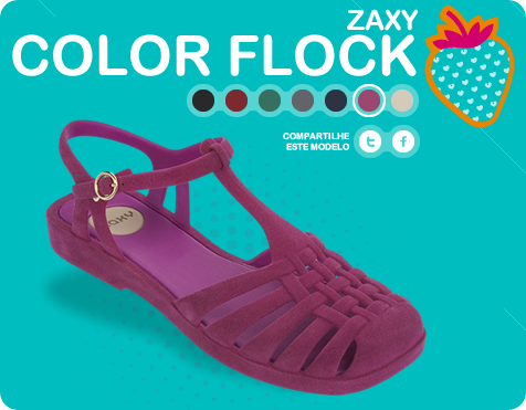 Zaxy Color Flock