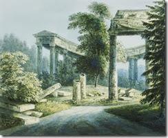 August-Philipp-Clara-Ruine-des-Apollo-Tempels-1824