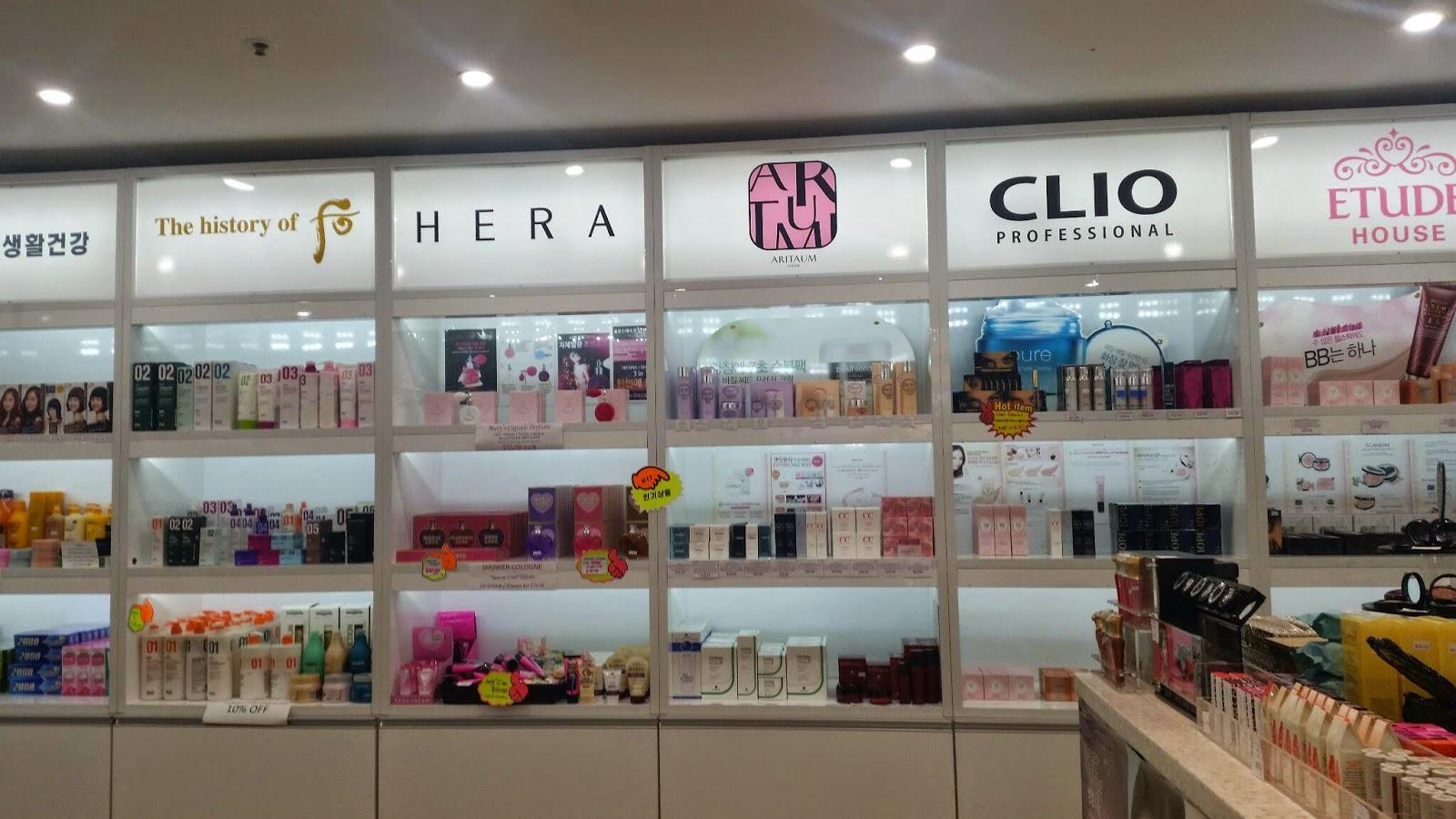 korean beauty shop