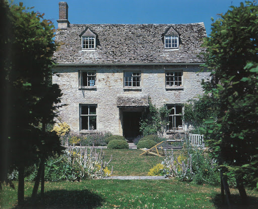 An 18th-century Georgian farmhouse.