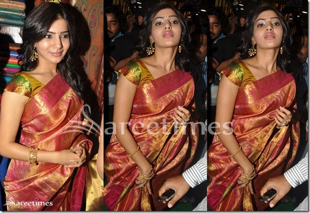 Samantha_Silk_Designer_saree