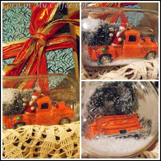 snow globe truck pmc