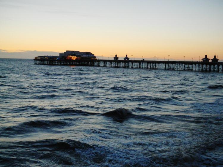Sea-Blackpool-Dusk