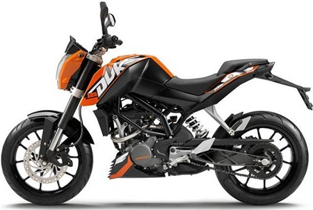 KTM-Duke-200-side view