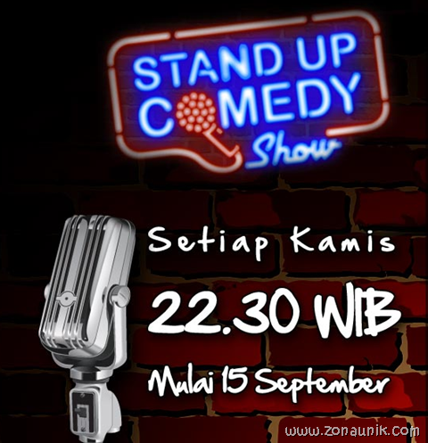 Stand up comedy show metro tv