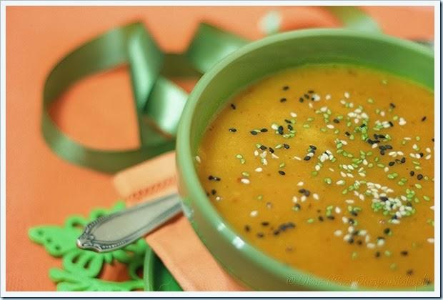 Przy Dużym Stole: szybka zupa-krem z dyni, w 10 minut