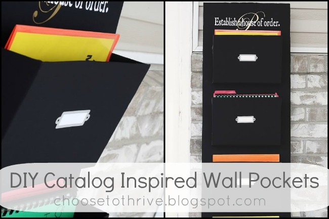 diy catalog inspired pockets