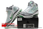 zlvii fake colorway white grey green 1 13 Fake LeBron VII