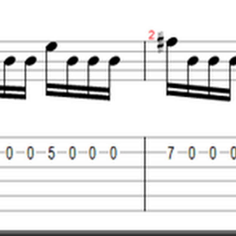 Ejercicio #2 - escala menor armónica