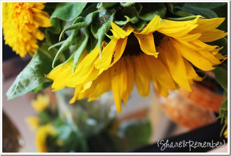 Preschool Art Study: Painting Sunflowers