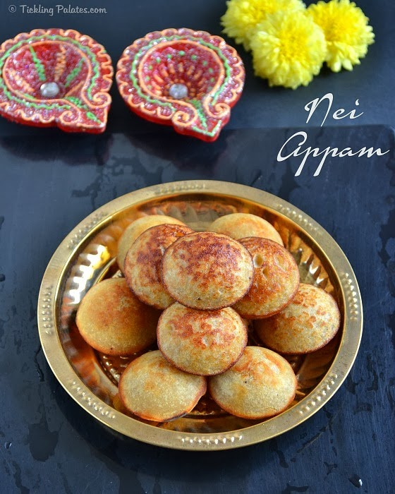 nei appam with rice flour