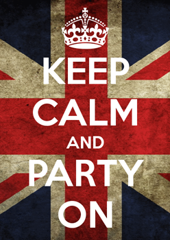 Keep calm and party on (Inviti1)