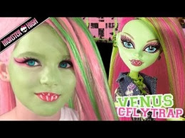 Kitties Mama Make Up Tutorial Monster High Venus McFlytrap
