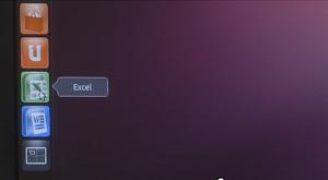 Microsoft Excel in Ubuntu Edge
