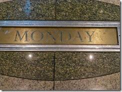day 2 monday plaque