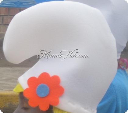 Aprende a Confeccionar el Gorro de la Pitufina - Manualidades MamaFlor