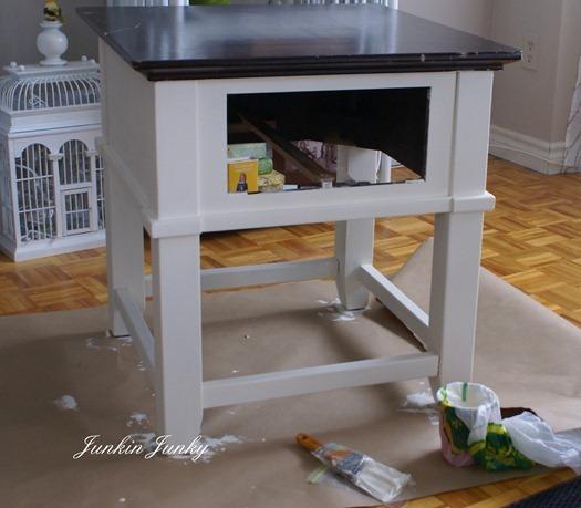 diy chalk paint - www.junkinjunky.blogspot.com