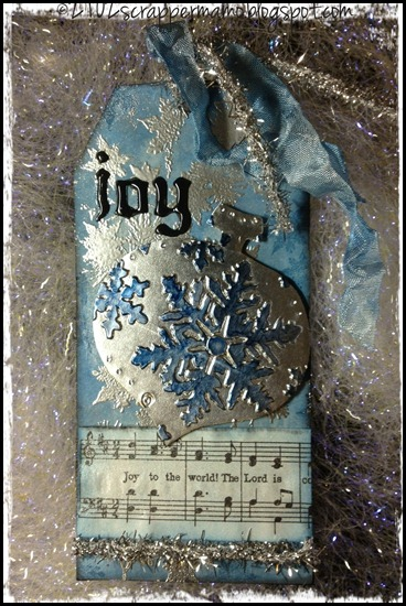 joy to the world white 3 w border