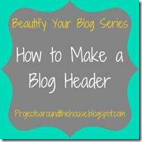 make a blog header