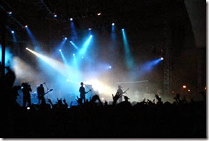 COnciertos en Foro principal Fiestas de octubre 2014