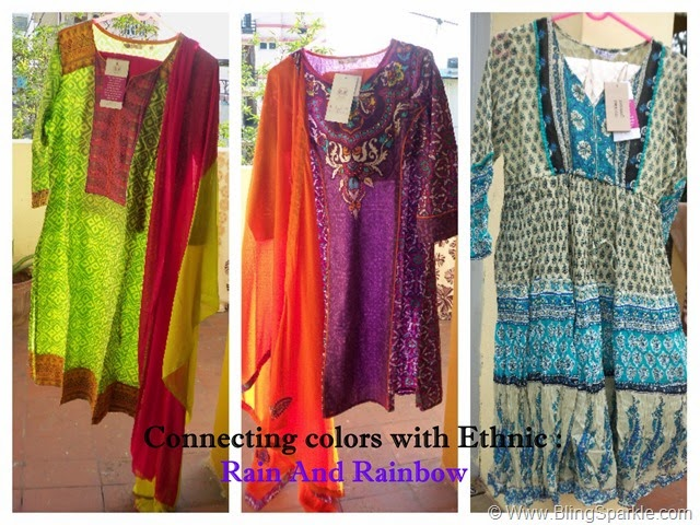 Ethnic wear  Rain And Rainbow