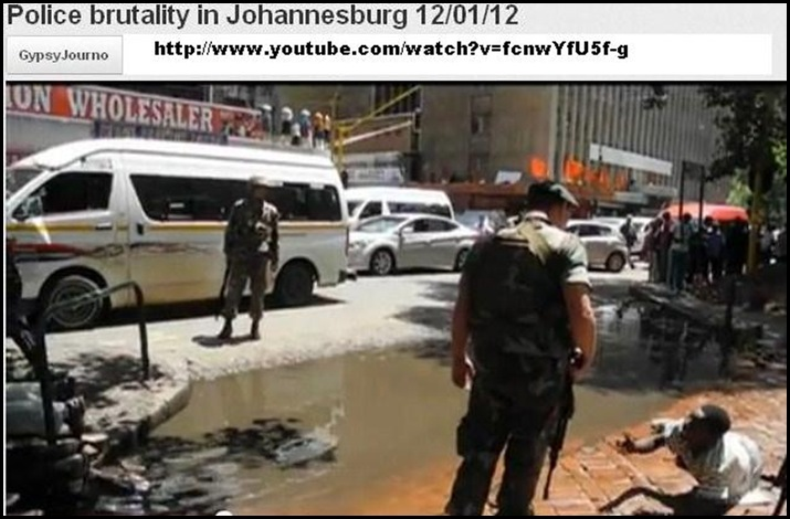 SA SOLDIERS BREAK OPEN SHOPS OF FOREIGN TRADERS JOHANNESBURG PATROL STREETS ATTACK CIVILIANS Jan 13 2012 PIC 4 (2)