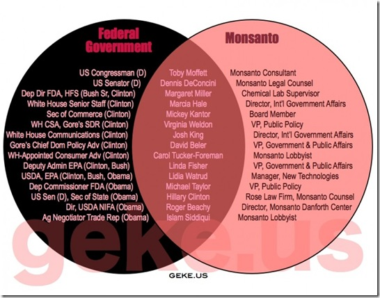 Govt Corruption - Monsanto