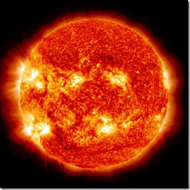 Sistema Solar El sol