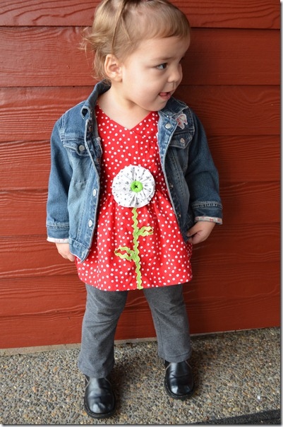Red Flower Shirt 067