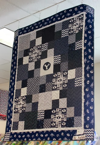 BYU quilt and kit from The Fabric Mill