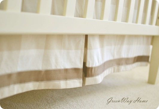 Crib skirt Sneak Peak