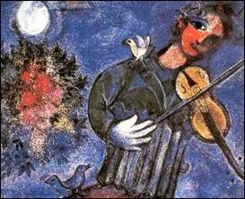Violiniste bleu Marc Chagall, 1947