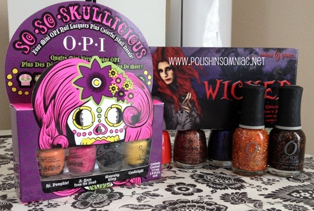 Halloween 2012 polishes