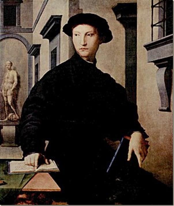 Bronzino, Portrait d'Ugolino Martel